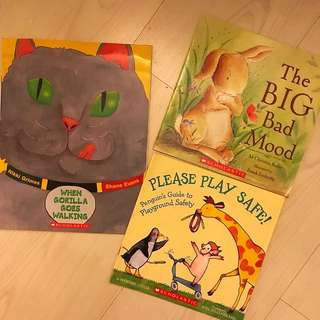 Scholastic English books