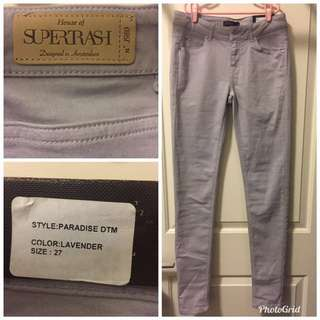 Gray Pants- size 27- Brand New