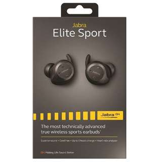 Jabra Elite Sport (Black) Sealed BNIB