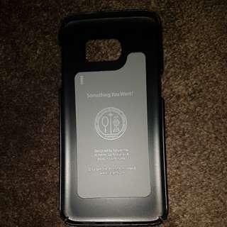 Spigen S7 Edge phone case Black