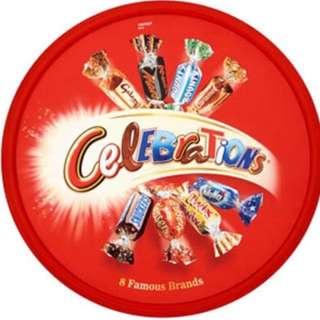 英國進口瑪氏Mars巧克力Celebrations巧克力糖果什錦禮盒680g