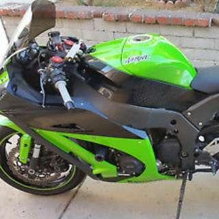 2012 Kawasaki bike 1000cc