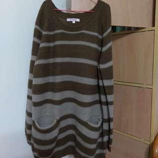 🚚 Betty's棕色針織衣M