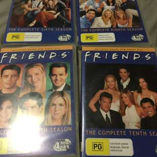 Friends seasons DVD