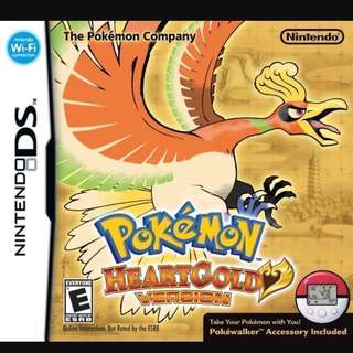 🚚 [PO] Pokemon Heartgold DS Game