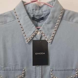 EMODA 鉚釘 背心襯衫