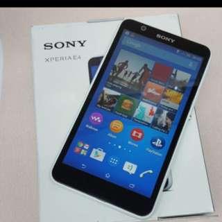 Sony E4 Full Set $600