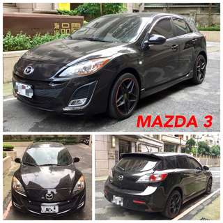 2011出廠MAZDA3 馬三  可分期輕鬆擁有