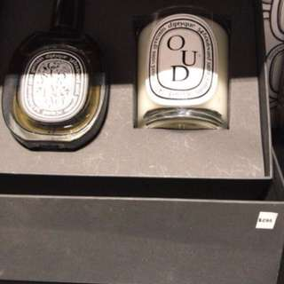 DIPTYQUE perfume and cancel set