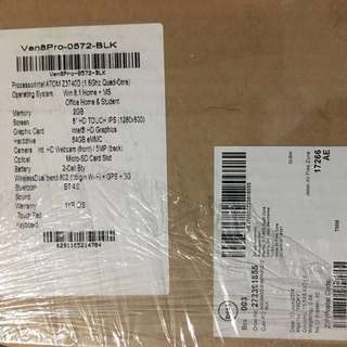 Dell Venue 8 PRO 0572 Tablet PC, WIFI + 3G