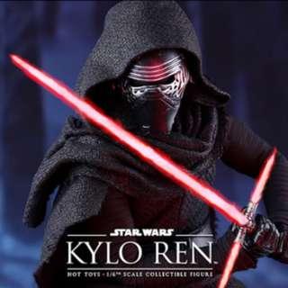 Star Wars Kylo Ren Hot Toys Figure (1:6)