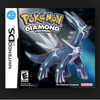 Pokemon Diamond for Nintendo DS/3DS