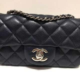 (勁🈹手快有,手慢冇)深紫藍色 Limited Chanel classic 17cm