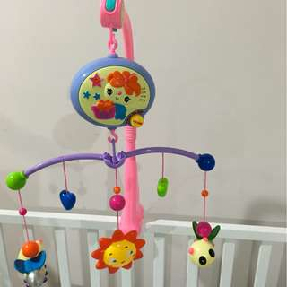 Baby cot musical