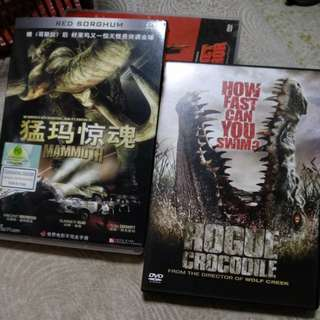 Dvd, Mammoth n Rogue Crocodile