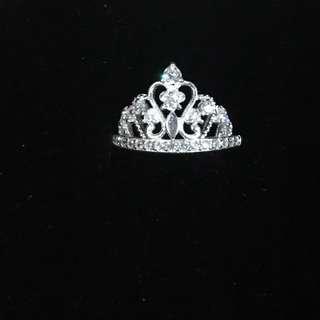 Sterling silver princess crown 2