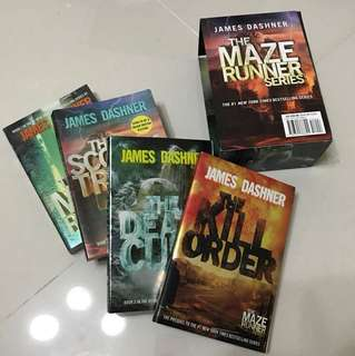 The Maze Runner Series (Box Set)