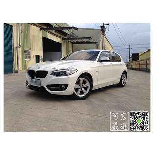 2013/14 Bmw 116I 全台獨賣 唯一M2樣式 總代理 里程少 漂亮車 3500帶回家 心動專線:0925001842