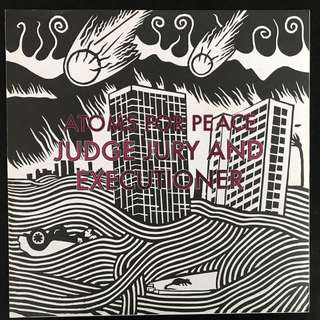 ATOMS FOR PEACE - Judge Jury And Executioner / S.A.D LP VINYL RECORDS