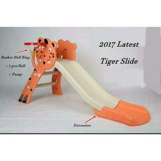 Children Tiger Slide Gelongsor