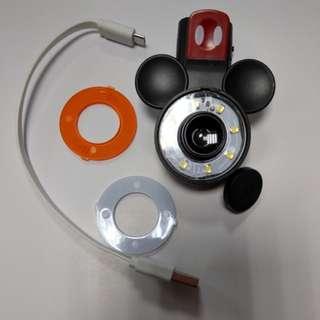 米奇-手機鏡頭自拍閃光燈