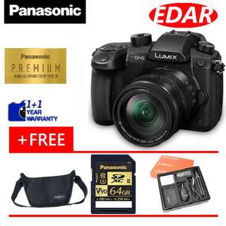 PANASONIC LUMIX GH5A KIT 12-35MM F2.8 (ORIGINAL SET & OFFICIAL PANASONIC)