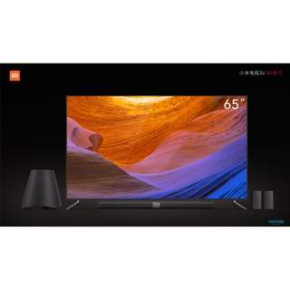 "65""3S Xiaomi TV,Brushed Metal Design,SAMSUNG 4K,Home Theater,Dolby 3D Amos Sound System"