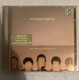 Matchbox 20 - More Than You Think You Are CD Album