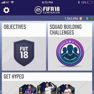 FIFA 18 FUT COINS