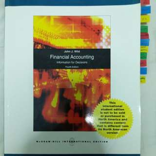 Financial Accounting - Information for Decisions (4th ed)