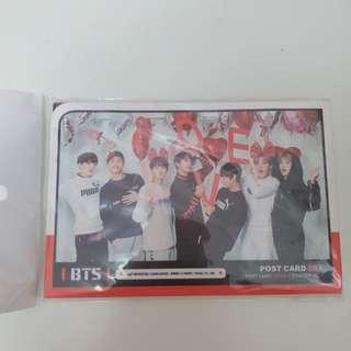 bts postcard set