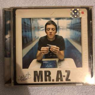 Jason Mraz - Mr A to Z CD Album