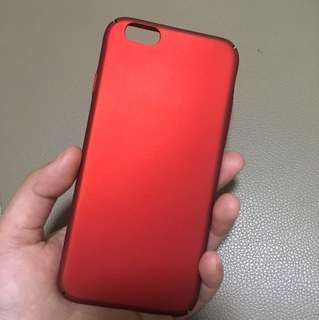 6s red cover