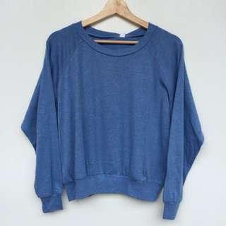 Oversized Sweater biru muda allsize