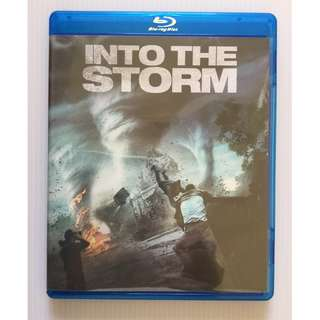 Into the Storm Blu Ray