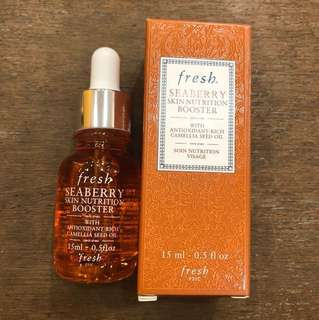 fresh seaberry skin nutrition booster face oil 15ml(brand new)