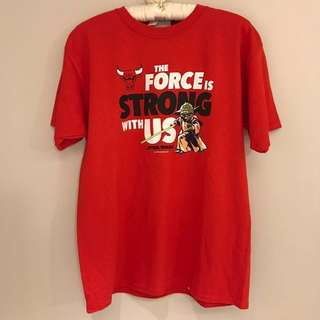 Chicago Bulls tee crossover Star Wars from USA🇺🇸