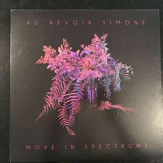 AU REVOIR SIMONE - Move In Spectrums LP VINYL RECORDS