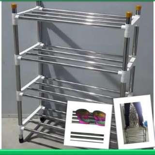 S/steel shoe rack