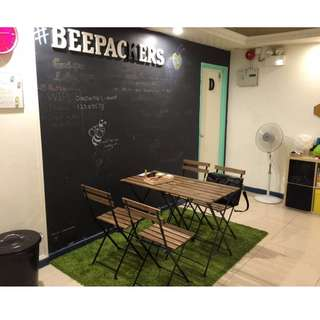 HONG KONG BEE PACKERS 3 NIGHTS STAY 1 BED IN 3 BED DORM FOR FEMALES
