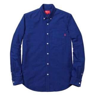(代購) supreme oxford shirt