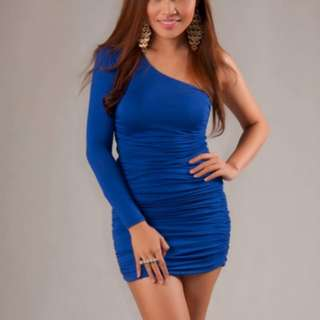Forever 21 Royal Blue Bodycon Dress