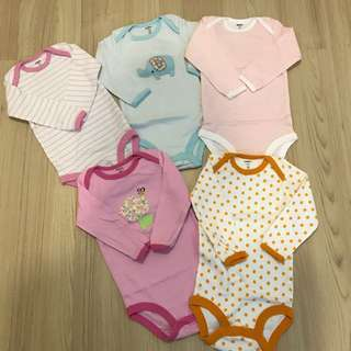 Carter's Rompers (set of 5)