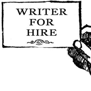 WRITER FOR HIRE