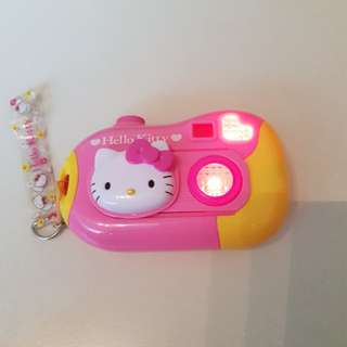 Hello kitty camera toy