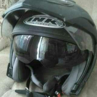 Helm Ink T1 Doble Visior