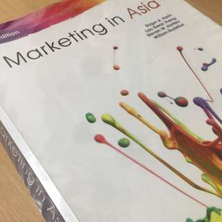 Marketing in Asia 3rd edition