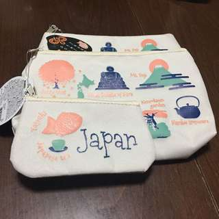 Pouch & Coin Purse Set