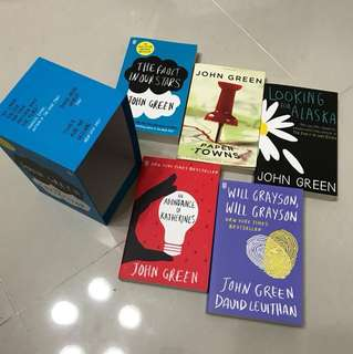 John Green Books (Box Set)