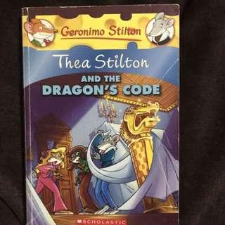 Geronimo Stilton Thea Stilton and the Dragon's Code